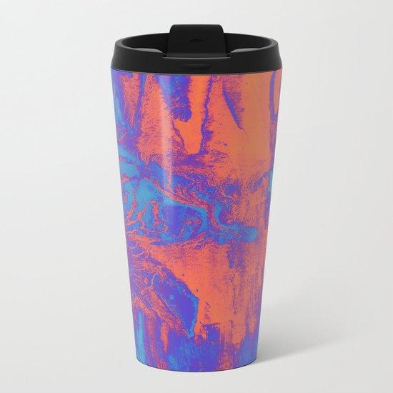 acidwash Metal Travel Mug