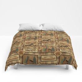 Moose Cabin Comforters