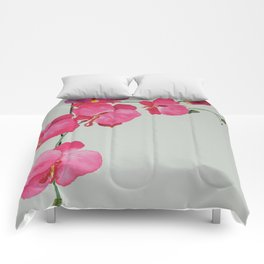 Watercolour Orchid Comforters