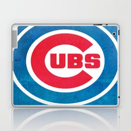 Chicago Cub : Up-and-coming, Promising, Exciting, Committed and Unpredictable Laptop & iPad Skin