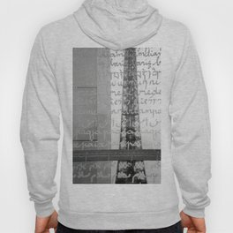 Wishes for peace from Paris Hoody