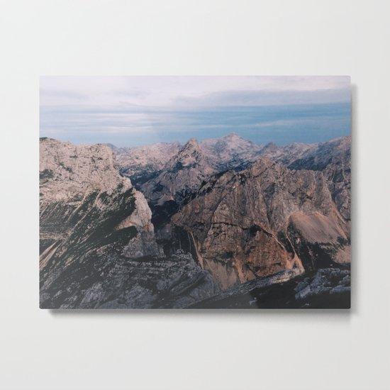Just mountains Metal Print