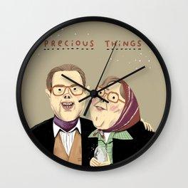 Precious Things Wall Clock
