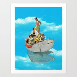 Fishing Time Art Print