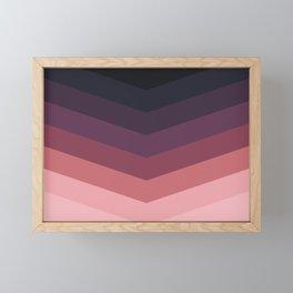 Purple Thunder Storm Framed Mini Art Print