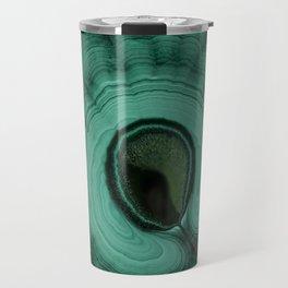 Malachite detailed pattern Travel Mug