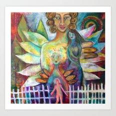 Faith, Hope, Charity and Love Art Print