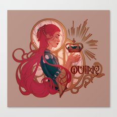 Enby royalty - Quing Canvas Print