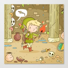 A Link to the past Canvas Print