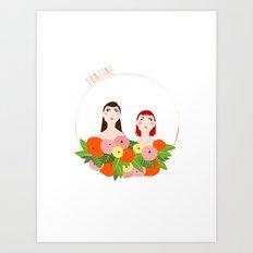 Tontine Art Print
