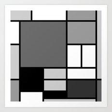 Mondrian Art Print