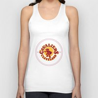 lebron Tank Tops featuring Cavaliers All In C by DeBUM