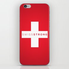 Swiss Strong iPhone & iPod Skin