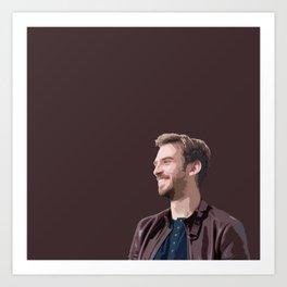 Dan Stevens 6 Art Print