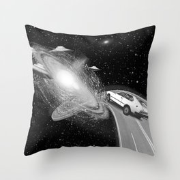 Get Outta My Dreams, Get into My Car Throw Pillow