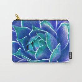 Suculenta Azul Carry-All Pouch