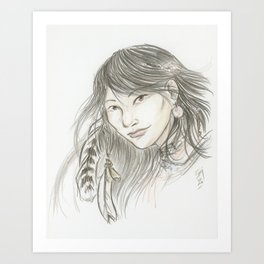 Akinik Art Print