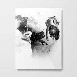 Expulsion Metal Print