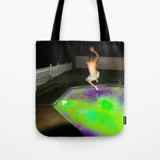 Jump for Joy. Land for Safety. Tote Bag
