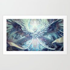 [Don't] Cover your eyes. Art Print