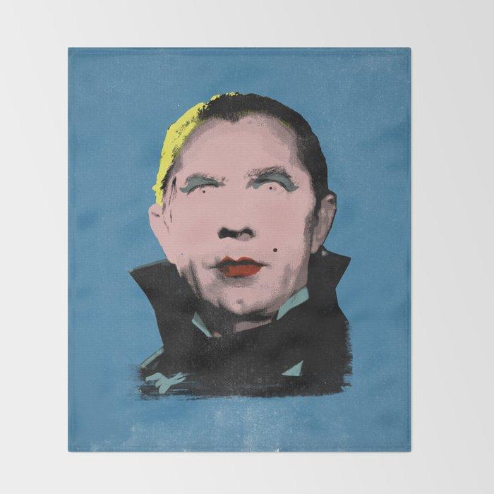 The Dazzling Dracula Throw Blanket