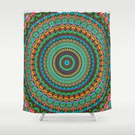 bohemian rhapsody  Mandala Shower Curtain