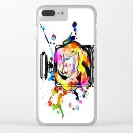 Parfum Rainbow Clear iPhone Case
