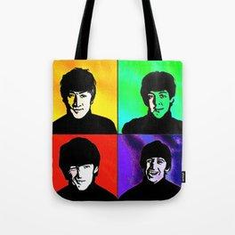 the fab 4 Tote Bag