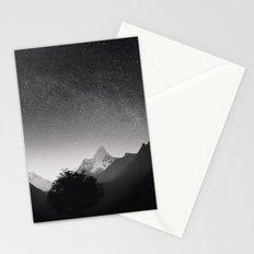 Himalayas at Night Stationery Cards