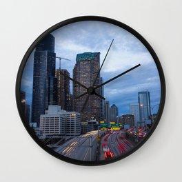 Yesler Bridge Wall Clock