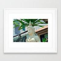 buddhism Framed Art Prints featuring Buddhism by Bakal Evgeny