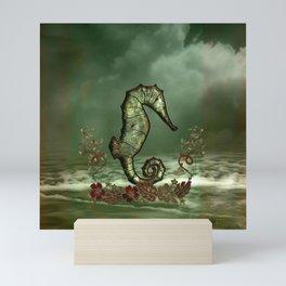 Wonderful seahorse Mini Art Print