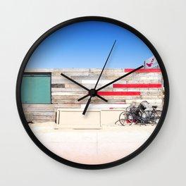 Beach Club Wall Clock