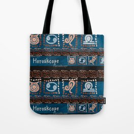 Astro pattern Tote Bag