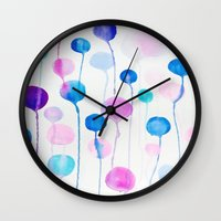 candy Wall Clocks featuring Candy by DuckyB