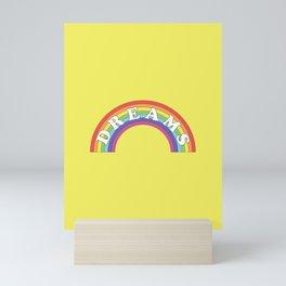 Rainbow Dreams Mini Art Print