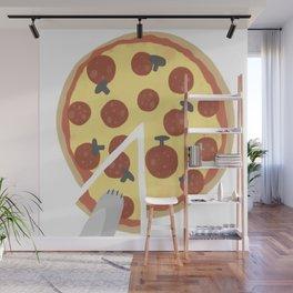 Stolen Slice Wall Mural