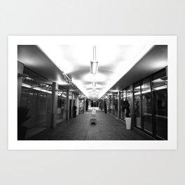 Central Illumination  Art Print