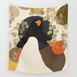 Living in Movement Wall Tapestry