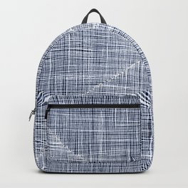 Ink Weaves: Sapphire Backpack