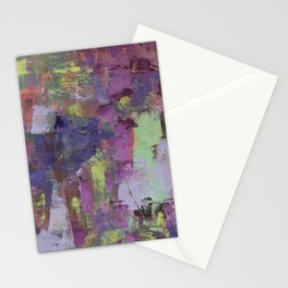 Blue and Purple Stationery Cards