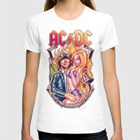 acdc T-shirts featuring Highway to ACDC by Renato Cunha