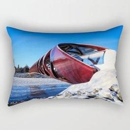 Peace Bridge Calgary Rectangular Pillow