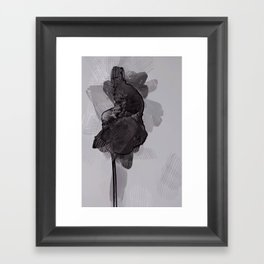 leaf two Framed Art Print