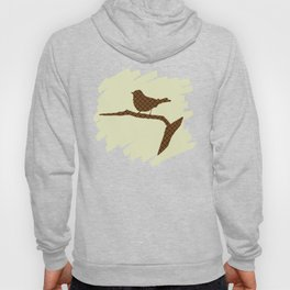 Brown Bird Silhouette Hoody