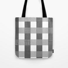 Yogi, B&W Tote Bag