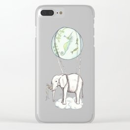 The trip Clear iPhone Case