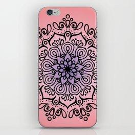 Baesic Sunset Traquil Mandala iPhone Skin