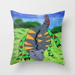 Dino Throw Pillow