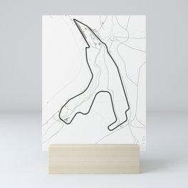 Circuit de Spa-Francorchamps Belgium Mini Art Print